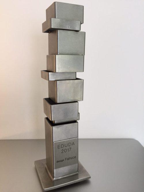 As a winner of the 1ste EDUDA award 2016, Yves Pauwels was asked to make the EDUDA winning award 2017.